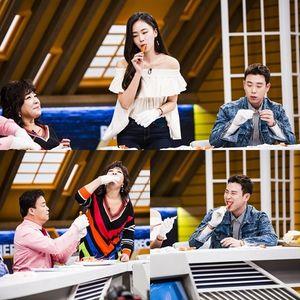 '청순美 어디에?'…3대천왕 홍수현, 홍게 뜯는 먹방美