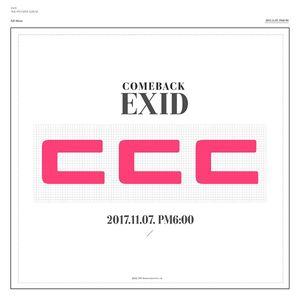 '11월 7일 컴백' EXID, 타이틀곡 초성 'ㄷㄷㄷ' 공개