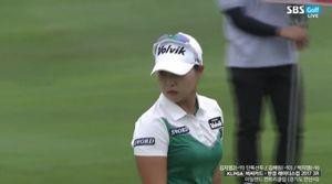 [영상] 비씨·한경 컵 3R, 버디 성공하며 타 수 만회하는 김보아