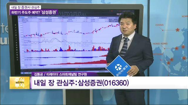 [관심주] 삼성증권, 외인 매수세·대차잔고 감소