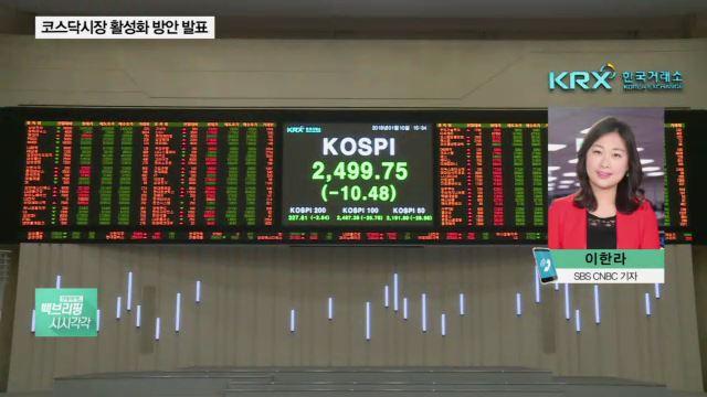 정부 '코스닥 상승세' 힘 싣는다…세제·금융혜택 제공