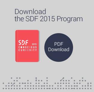 Download the SDF 2014 Program PDF Download