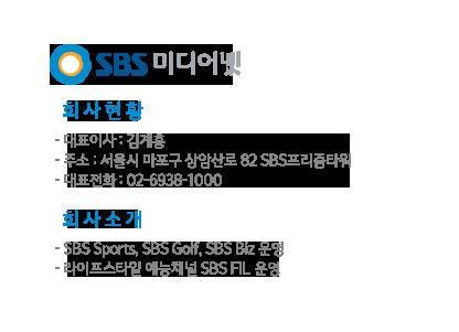 SBS 미디어넷 회사소개