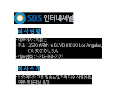 SBS 인터네셔널 회사소개
