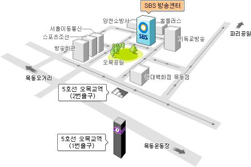 SBS 방송기술인 협회 찾아오시는 길