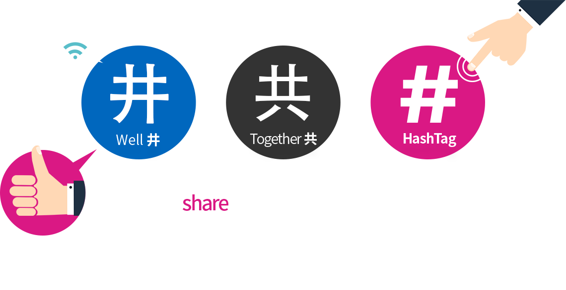 We share our thoughts, feelings, everyday living, and stories with one another on SNS every moment every day.
