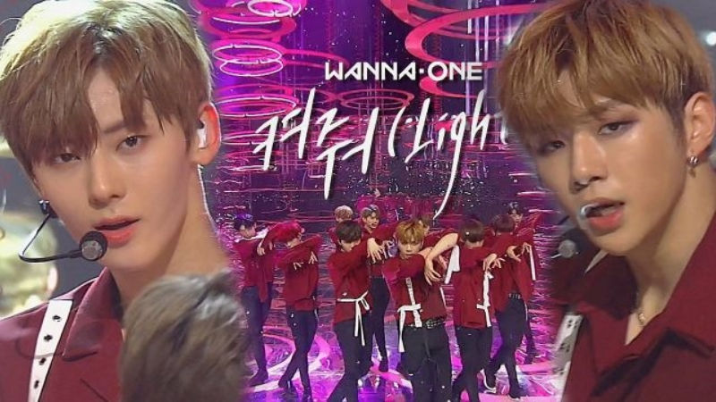 기사 대표 이미지:[SBS Star] VIDEO: Wanna One Comes Back with Sexy & Powerful Track Light!