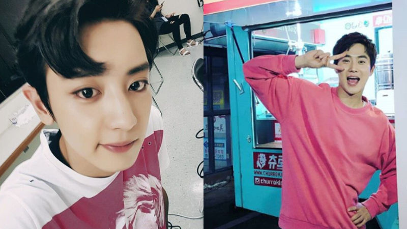 기사 대표 이미지:[SBS Star] EXO SUHO Thanks CHANYEOL for Sending Him a Snack Truck