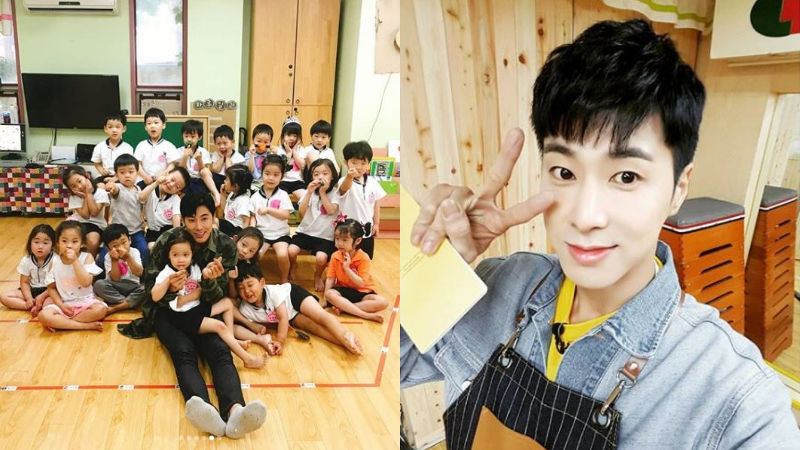 기사 대표 이미지:[SBS Star] U-KNOW Yunho to Revisit Kindergarten to See Students He Met on the Show