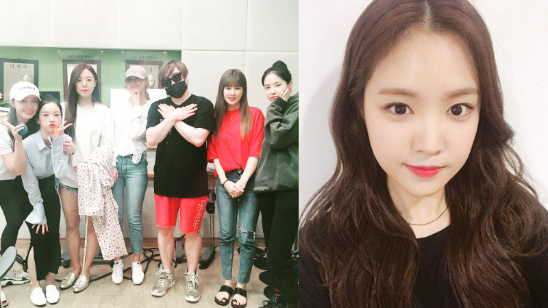 기사 대표 이미지:[SBS Star] Apink Son Naeun Shares Her Tips to Maintain Goddess Beauty