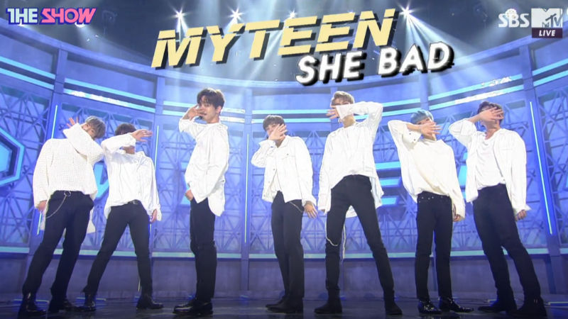 기사 대표 이미지:[SBS Star] VIDEO: MYTEEN Surprises Everyone with Its Sexy Concept!