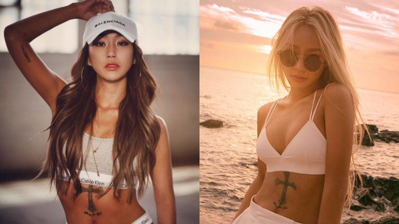 기사 대표 이미지:[SBS Star] HYOLYN Opens Up About  Her Using Tattoo to Cover Scars