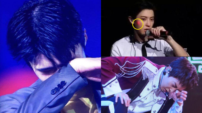기사 대표 이미지:[SBS Star] Fans Express Fury as EXO Members Get Attacked by Laser Lights During Concert