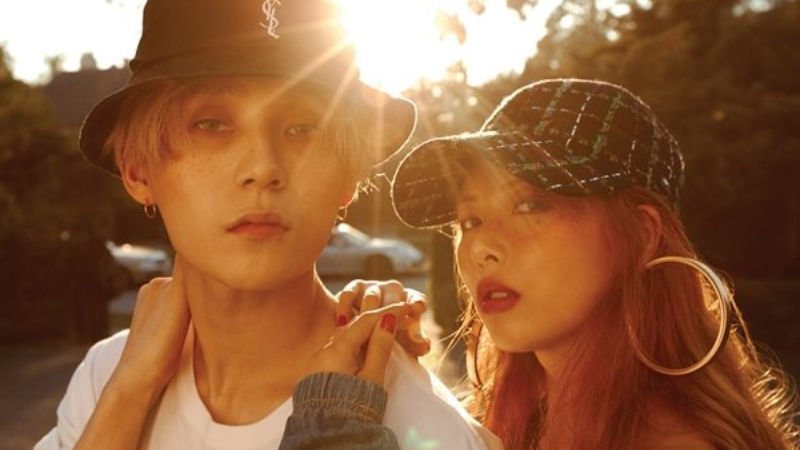 기사 대표 이미지:[SBS Star] CUBE Ent. Announces HyunA & EDAWNs Departure from the Agency