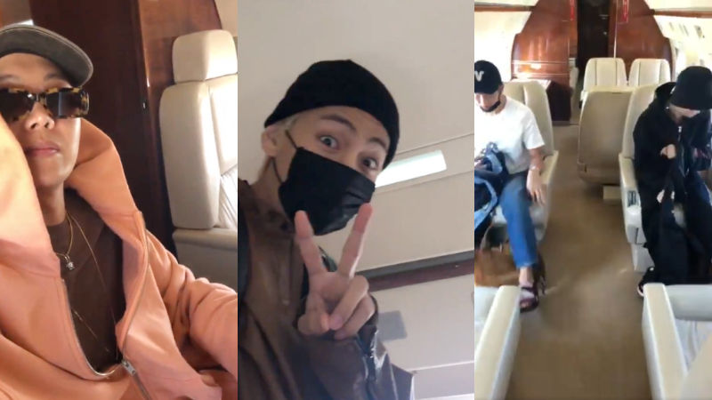 기사 대표 이미지:[SBS Star] BTS Goes on a Private Jet for Its World Tour!