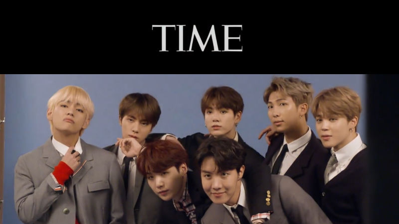 기사 대표 이미지:[SBS Star] TIME Names BTS as Next Generation Leaders!