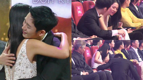[SBS Star] VIDEO: Son Ye-jin & Jung Hae In's Couple-like Moments at an Awards Ceremony