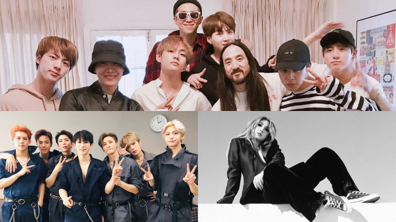 기사 대표 이미지:[SBS Star] Steve Aoki Names Two K-pop Acts He Wishes to Collaborate With