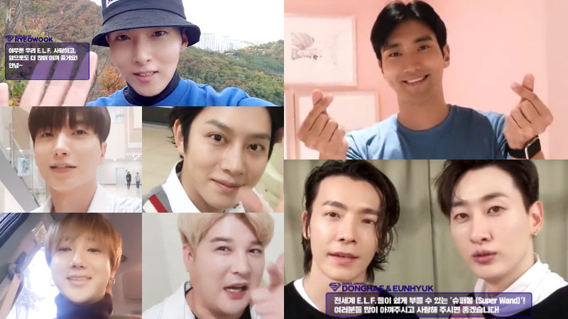 기사 대표 이미지:[SBS Star] VIDEO: SJ Messages Fans in Celebration of the Groups 13th Anniversary