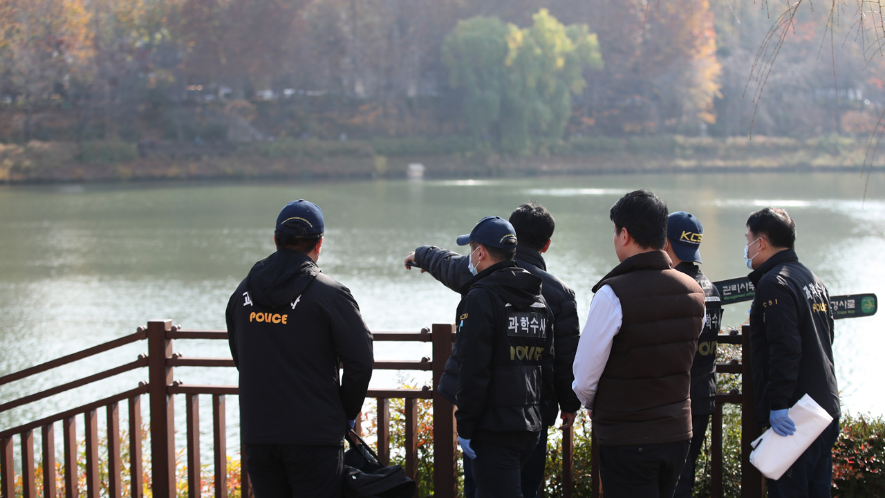 A college student who died on a lake in Seochon     Taxi