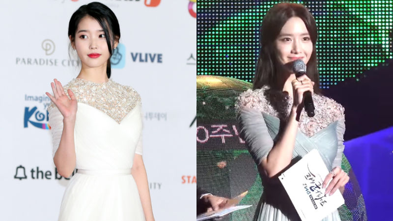 기사 대표 이미지:[SBS Star] Same Dress, Different Charms: IU & Yoona