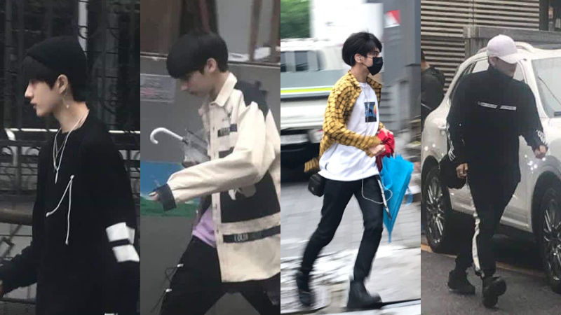 기사 대표 이미지:[SBS Star] Fans Spot BTS Junior New Boy Group Members on the Street