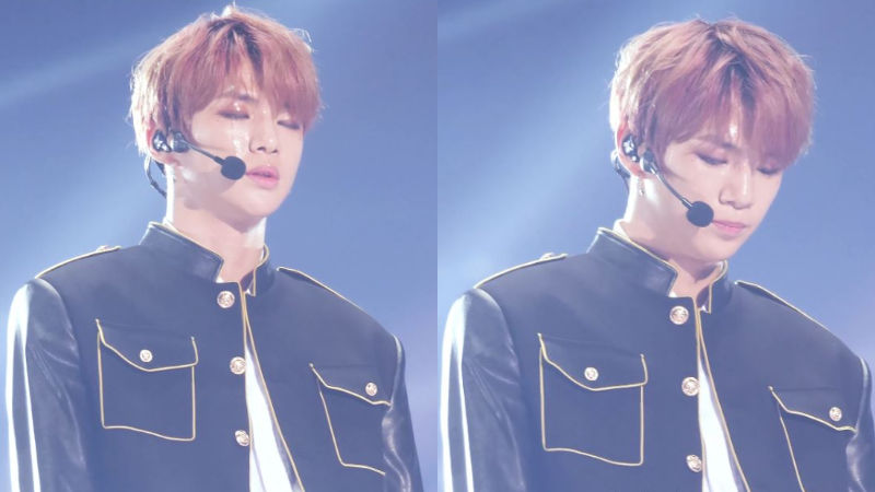 기사 대표 이미지:[SBS Star] Kang Daniel Tears up During Wanna Ones Performance at 2018 MMA