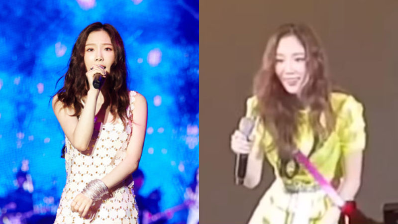 기사 대표 이미지:[SBS Star] VIDEO: Taeyeon Wishes Her Fan a Happy Birthday During Bangkok Concert