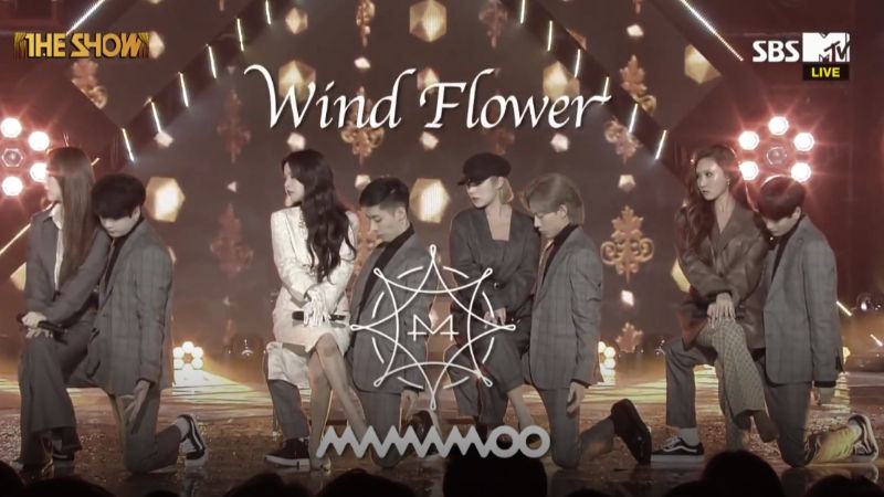 기사 대표 이미지:[SBS Star] VIDEO: MAMAMOO Dances in the Breeze Like the Wind Flower