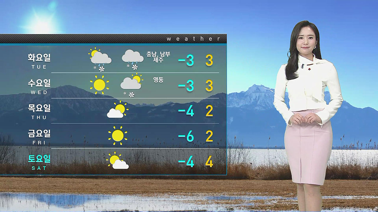 Weather] We have a cold wave from the daytime     There is no strong