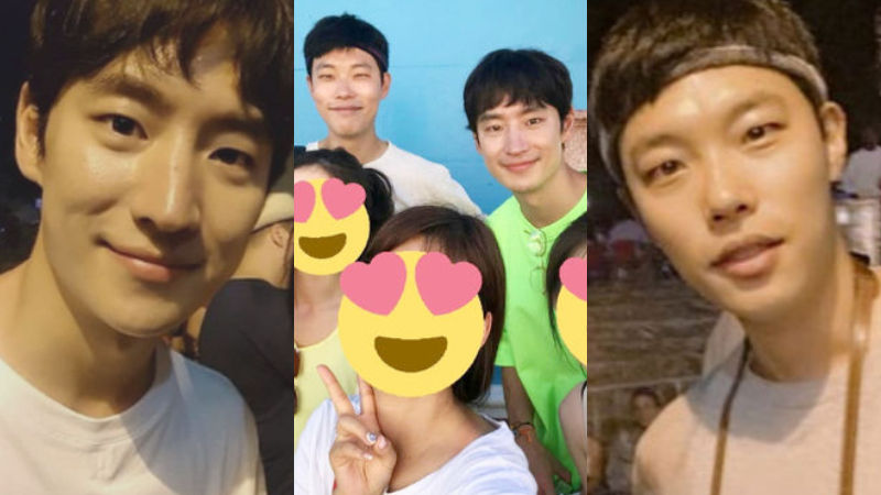 기사 대표 이미지:[SBS Star] Lucky Fans Take Photos with Lee Jehoon & Ryu Jun Yeol in Cuba!