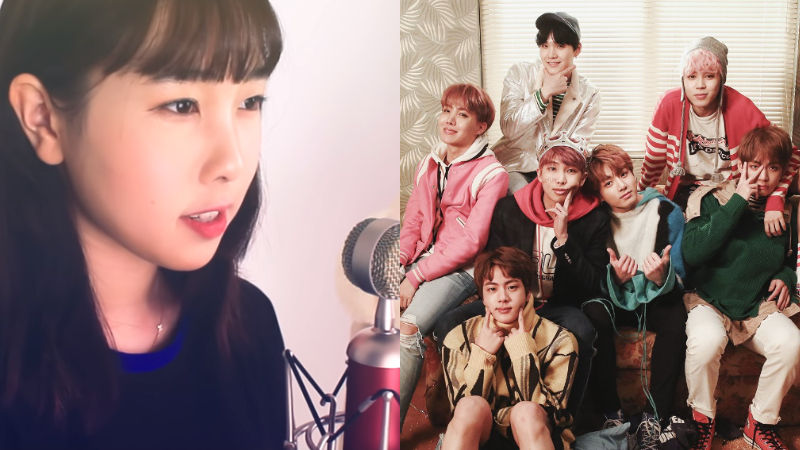 기사 대표 이미지:[SBS Star] VIDEO: Taeyeons Sister Amazes BTS Fans with Her Wonderful Cover of Dimple