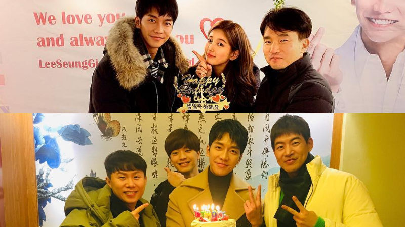 기사 대표 이미지:[SBS Star] Lee Seung Gi Spends a Memorable Birthday with Suzy & Master in the House Brothers