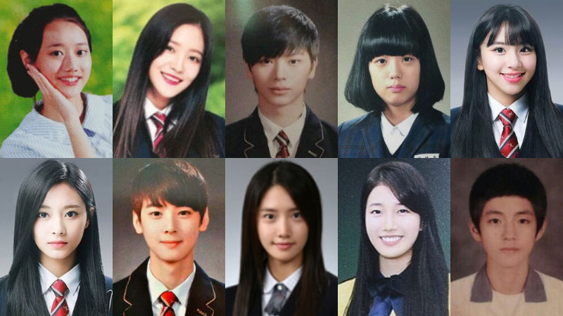 기사 대표 이미지:[SBS Star] 10 K-pop Stars Who Turn Yearbook into a Magazine with Their Great Looks!