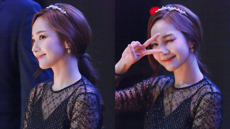기사 대표 이미지:[SBS Star] Park Min Young Captivates Japan with Her Fan Meeting