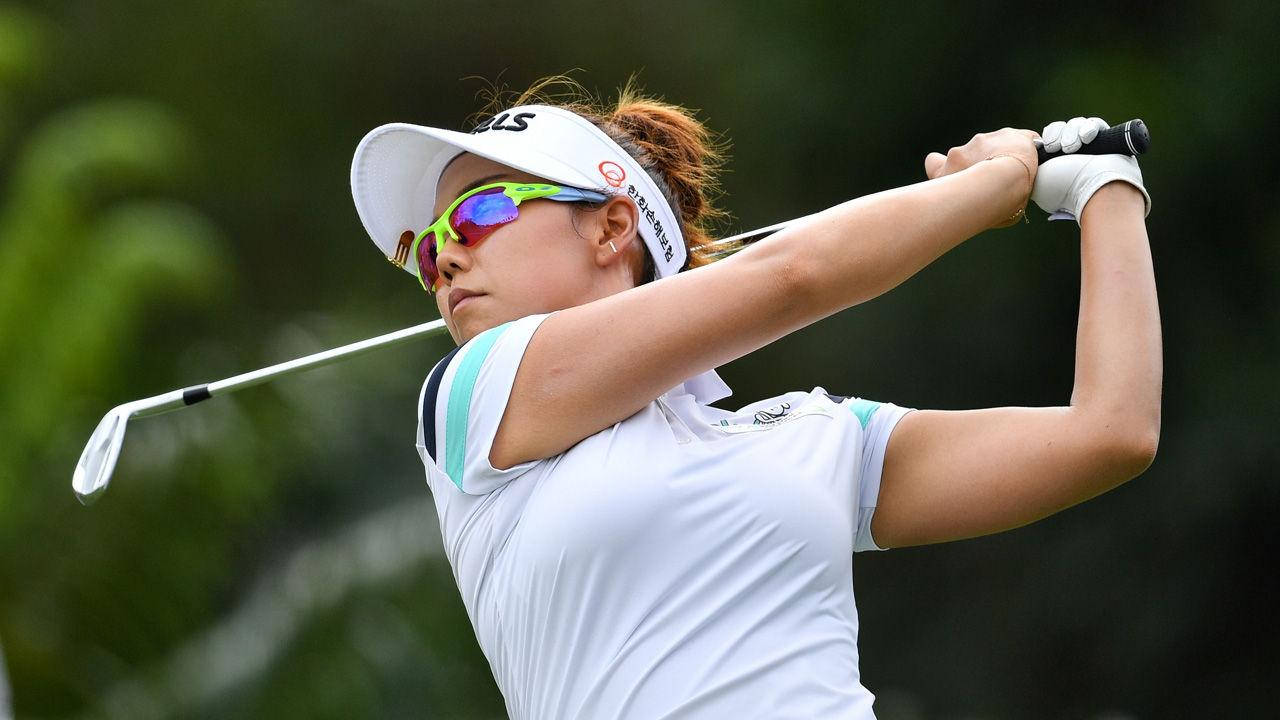 신지은, LPGA 투어 혼다 타일랜드 2R 1타 차 단독 선두 | SBS 뉴스