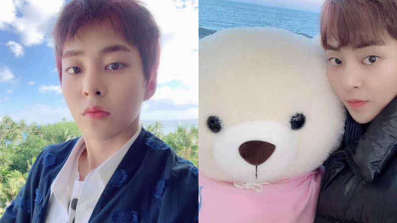 기사 대표 이미지:[SBS Star] EXO XIUMIN Pens a Letter to Fans Ahead of Military Enlistment