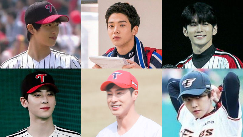 기사 대표 이미지:[SBS Star] 6 Male Celebrities Who Look Phenomenal in Baseball Uniform