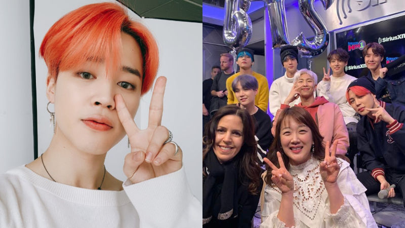 기사 대표 이미지:[SBS Star] BTS JIMIN Thanks Actress Suh Minjung for Her Sweet Gift