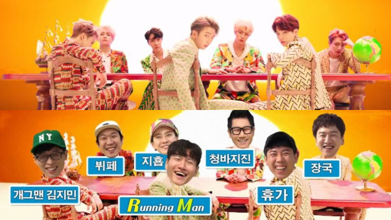 기사 대표 이미지:[SBS Star] VIDEO: Running Man Cast Attempts to Cover BTS IDOL