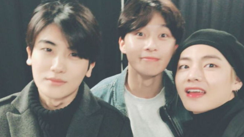"기사 대표 이미지:[SBS Star] ""They Are My Soulmates"" Park Hyung Sik Describes His Solid Friendship with Park Seo Jun & V"