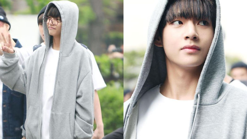 기사 대표 이미지:[SBS Star] Same Person, Different Vibe: BTS V vs Him with Glasses