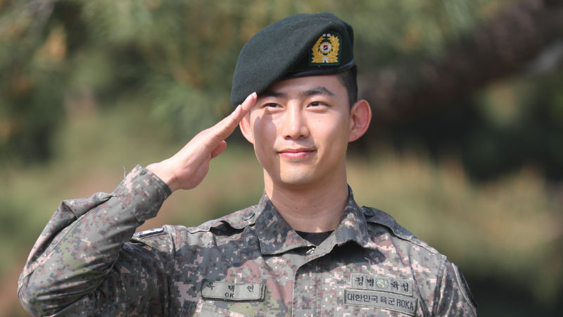 기사 대표 이미지:[SBS Star] 2PM TAECYEON Officially Completes His Military Service