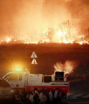 인천 학익동 마트 화재 순간 신고만 10건…연기 치솟아