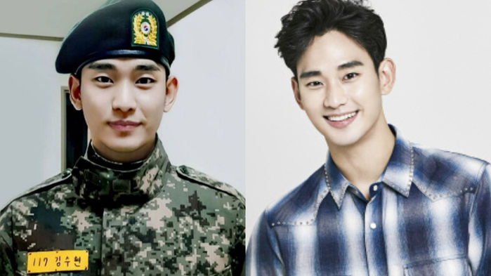 Kim Soo Hyun to Be Discharged From the Military in Just One Month
