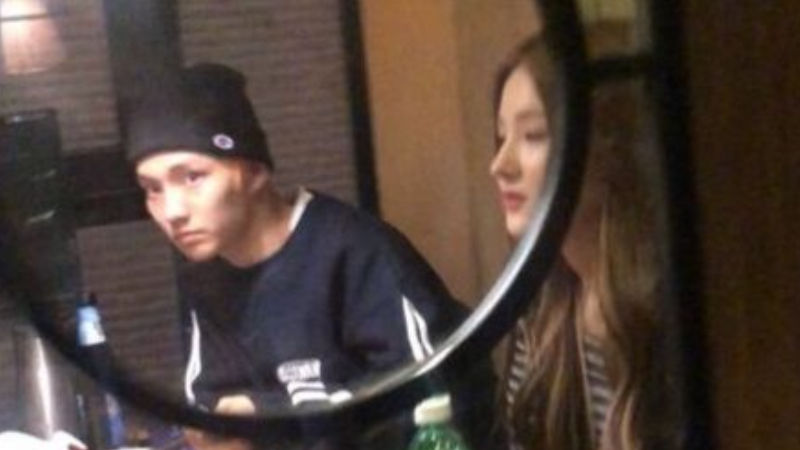 기사 대표 이미지:[SBS Star] MOMOLAND Nancy & THE BOYZ Q Spotted Drinking Together Late at Night