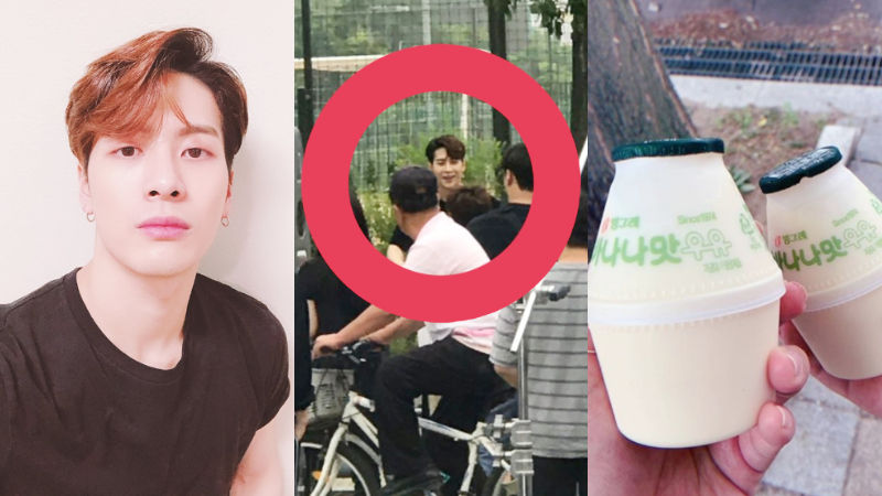 기사 대표 이미지:[SBS Star] GOT7 JACKSON Buys Drinks & Food to Some People Around Where He Was Shooting