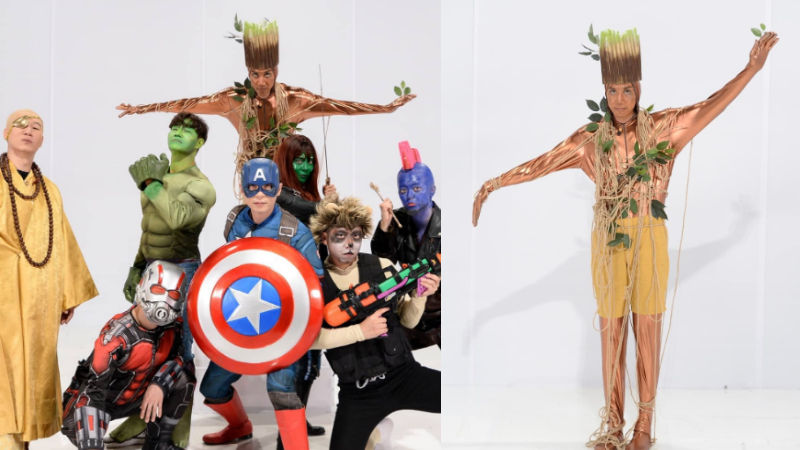기사 대표 이미지:[SBS Star] Running Man Cast Members Turn Into Avengers Super Heroes