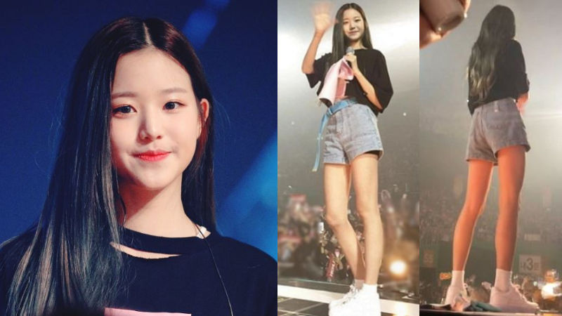 기사 대표 이미지:[SBS Star] IZ*ONE Jang Won Young Amazes Fans with Her Perfect Proportions