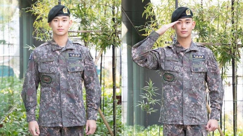기사 대표 이미지:[SBS Star] Kim Soo Hyuns Agency Shares New Photos of the Actor in the Military Uniform